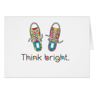 Bright Sneaks Cards