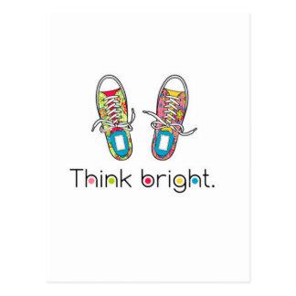 Bright Sneaks Postcard