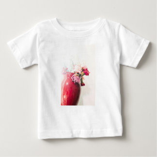 Bright Spring Blooming Flowers Baby T-Shirt