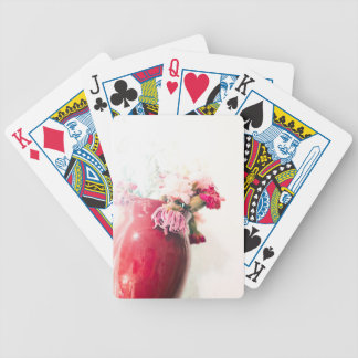 Bright Spring Blooming Flowers Bicycle Playing Cards