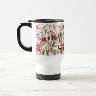 Bright spring field. Romantic pattern Travel Mug