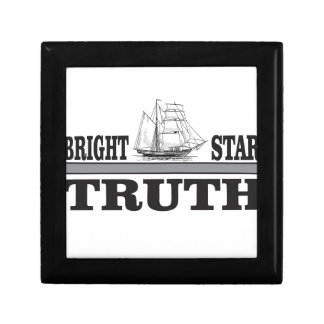 bright star of truth small square gift box