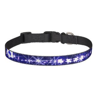 Bright stars pet collar