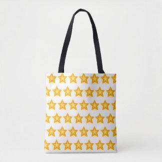 bright stars tote bag
