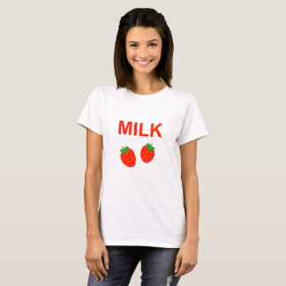 Bright Strawberry Milk T-Shirt