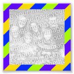 Bright Stripes Frame Photo