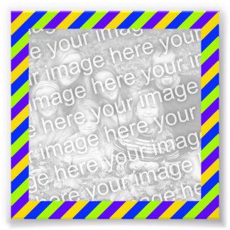 Bright Stripes Frame Photo Photograph