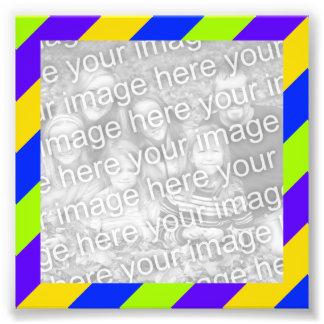 Bright Stripes Frame Photo Photo