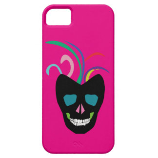 Bright Sugar Skull Barely There iPhone 5 Case