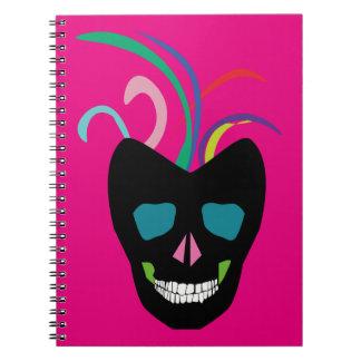 Bright Sugar Skull Notebooks