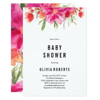 Bright Summer Baby Shower Invitation
