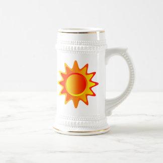 Bright Sun Coffee Mugs
