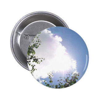 Bright Sun with Clouds Button