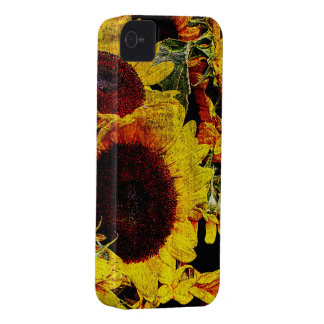 Bright sunflower iphone case