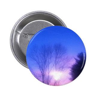 Bright Sunset 6 Cm Round Badge