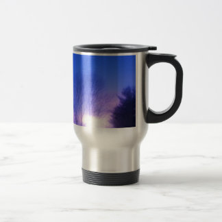 Bright Sunset Stainless Steel Travel Mug