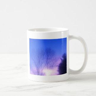 Bright Sunset Basic White Mug