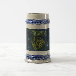 Bright Taurus Beer Stein