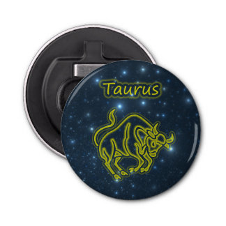Bright Taurus Bottle Opener