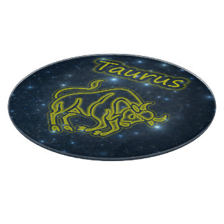 Bright Taurus Cutting Board