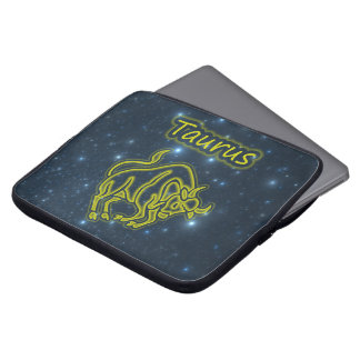 Bright Taurus Laptop Sleeve