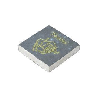 Bright Taurus Stone Magnet