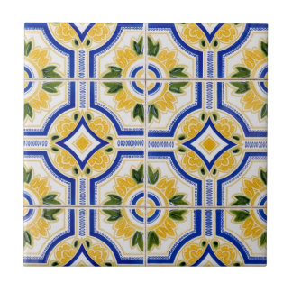 Bright tile pattern, Portugal
