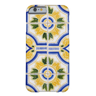 Bright tile pattern, Portugal Barely There iPhone 6 Case