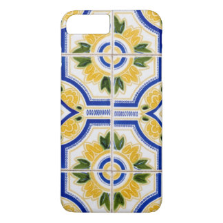Bright tile pattern, Portugal iPhone 8 Plus/7 Plus Case