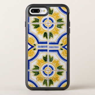 Bright tile pattern, Portugal OtterBox Symmetry iPhone 7 Plus Case