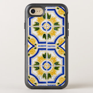Bright tile pattern, Portugal OtterBox Symmetry iPhone 8/7 Case