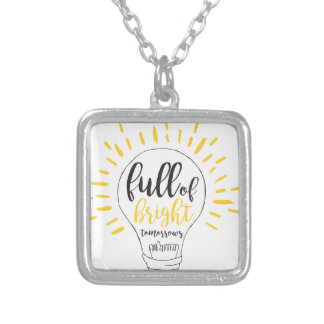 Bright Tommorrows Silver Plated Necklace