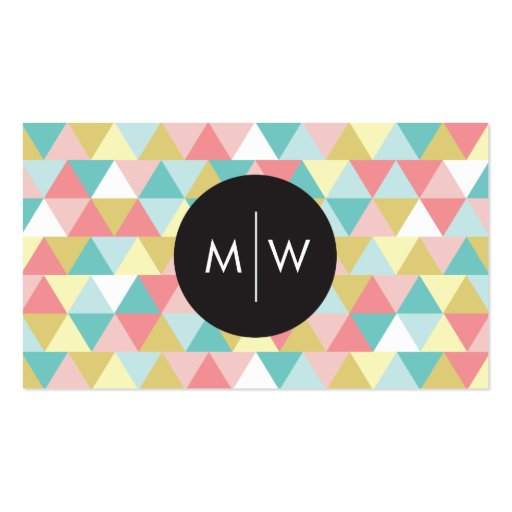 Bright Triangles Business Cards