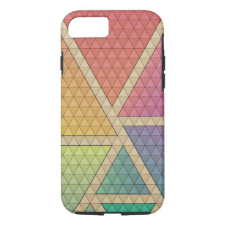 Bright Triangles iPhone 8/7 Case