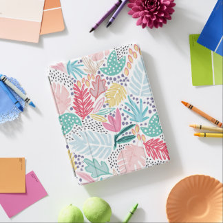 Bright Tropical Collage Pattern Smart iPad Cover