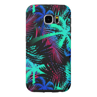 Bright tropical palms samsung galaxy s6 cases