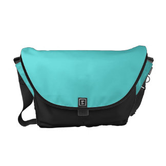 Bright Turquoise Customizable Courier Bag