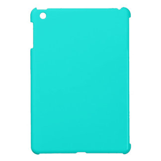 Bright Turquoise Modern Colorful iPad Mini Cases