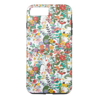 Bright Vector Flowers Pattern iPhone 7 Plus Case