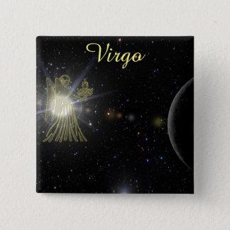 Bright Virgo 15 Cm Square Badge