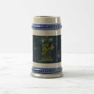 Bright Virgo Beer Stein