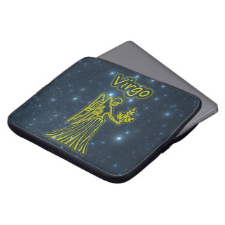 Bright Virgo Laptop Sleeve