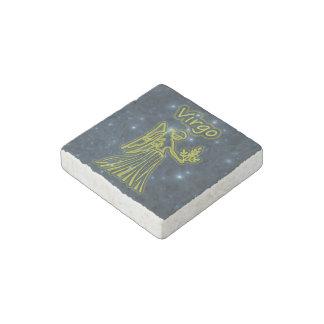 Bright Virgo Stone Magnet