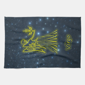 Bright Virgo Tea Towel