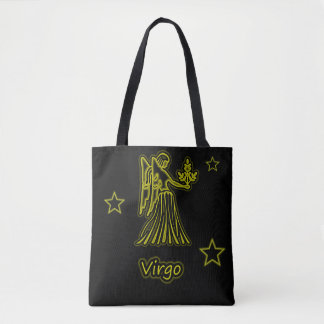 Bright Virgo Tote Bag