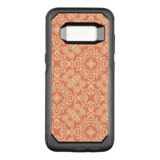 Bright warm background in vintage style. OtterBox commuter samsung galaxy s8 case