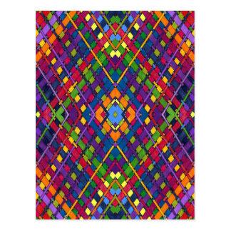 Bright Weave Postcard