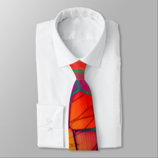 Bright Wing Orange Tie