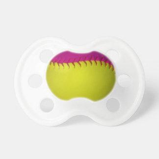 Bright Yellow and Pink Softball Dummy