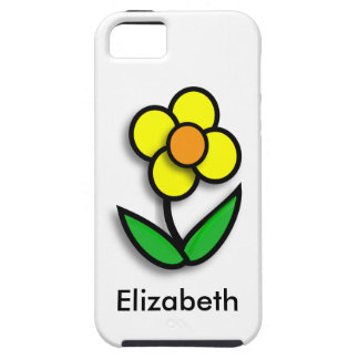 * Bright Yellow Buttercup iPhone 5 Cases